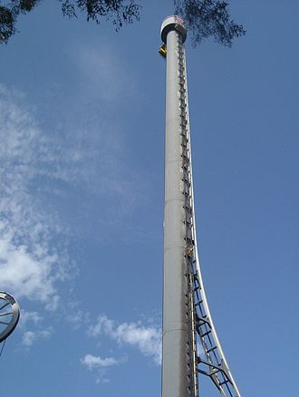 Ardent Leisure - The Dreamworld Tower at Dreamworld which houses the Tower of Terror II and the Giant Drop.