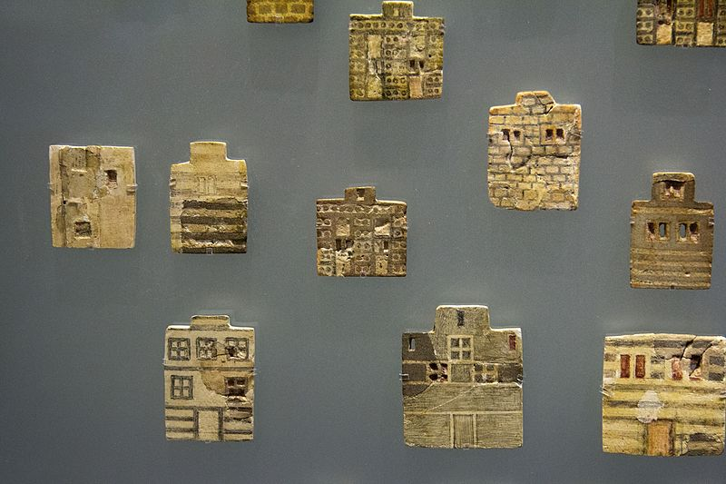 File:Town Mosaic, faience plaques, Knossos Palace, 1700-1600 BC, AMH, 145016.jpg