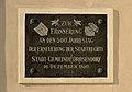 Town hall, Drosendorf -1899 plaque.jpg