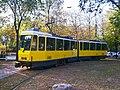 Tram in Almaty city.JPG