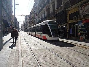 Transport in Algeria - Tramway of Oran