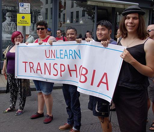 Trans Pride 2014 Unlearn Transphobia
