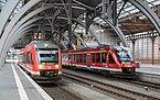 Triebzüge der DB-BR 648 Im Hauptbahnhof Lübeck.jpg