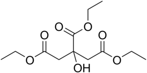Triethyl citrate - Image: Triethyl citrate