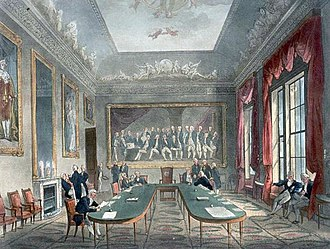 Trinity House - A meeting at Trinity House circa 1808