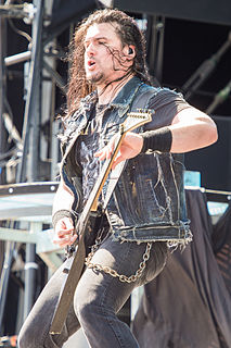 Corey Beaulieu Lead guitarist of Trivium