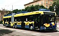 Trolleybus 25 decorated for reopening of Modena trolleybus system, 13-5-2000.jpg
