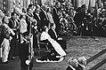 Troonswisseling 30 april , inhuldiging in Nieuwe Kerk Koningin Beatrix en Prin, Bestanddeelnr 930-8056.jpg