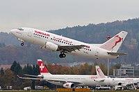 Tunisair Boeing 737-500 TS-IOJ Zurich International Airport.jpg