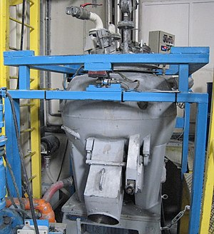Plastisol - Pilot turbosphere (200 liters) equipped with water cooling system to produce plastisols.