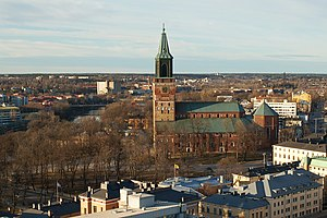 Turku Cathedral from the obseratory.jpg