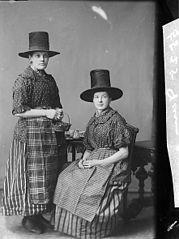 Two women in national dress (Davies)