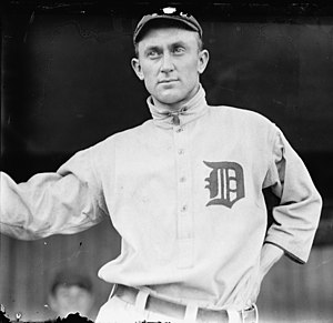 History of the Detroit Tigers - Ty Cobb in 1913.