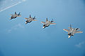 U.S. Air Force F-35A Lightning II aircraft assigned to the 58th Fighter Squadron, 33rd Fighter Wing fly in formation over the northwest coast of Florida May 16, 2013 130516-F-XL333-596.jpg