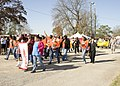 U.S. Special Olympic athletes and local volunteers participate in a parade, before starting the games, at Special Olympics, at Fort Gordon, Ga., Mar 100324-A-NF756-020.jpg