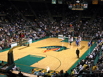 Key (basketball) - Image: UAB v Tulsa