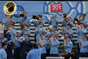 Pep band - UNC Tar Heels pep band