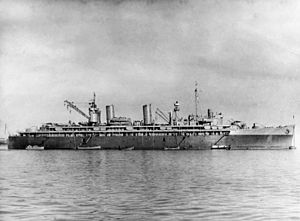 USS Dixie (AD-14) at anchor c1942.jpg