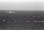 USS Harlan County (LST-1196) during landing exercise in 1981.JPEG