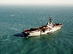 USS Okinawa (LPH-3) in the Persian Gulf 1992.JPEG