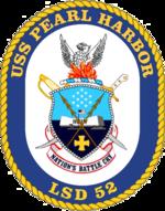 USS Pearl Harbor LSD-52 Crest.png