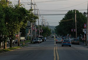 U.S. Route 209 - Route 209 as it passes through Matamoras, concurrent with US 6.
