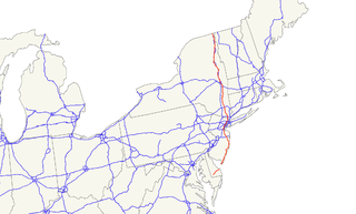 U.S. Route 9 highway in the United States