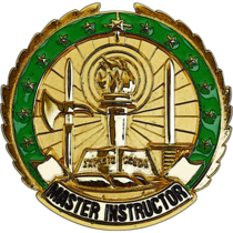 US Army Master Instructor Identification Badge