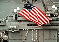 US Navy 020123-N-6436W-002 U.S. National ensign aboard USS Carl Vinson.jpg