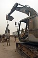 US Navy 030526-N-5362A-004 U.S. Navy Seabees attached to Naval Mobile Construction Battalion 133 rebuild the Sarabadi Bridge.jpg