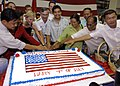 US Navy 070704-N-4954I-078 Vice Adm. Doug Crowder is joined by U.S. Ambassador to the Philippines, the Honorable Kristie A. Kenny and government officials from the Bicol region for a cake cutting during a 4th of July reception.jpg