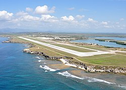 US Navy 100506-N-8241M-317 An aerial view of the Leeward Airfield at Naval Station Guantanamo Bay, Cuba.jpg