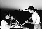 US Navy ordnance crewman of Anti-Submarine Squadron 37 install warhead on rocket in 1970.jpg