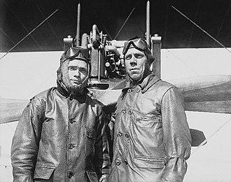 James Floyd Smith - Albert Smith on the left, James Floyd Smith (1884-1956) on the right, circa 1915 in San Diego