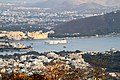 Udaipur City midst hills and lakes in Rajasthan India March 2015.jpg