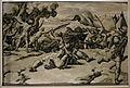 Ugo da carpi, davide e golia (da raffaello), xilografia a 3 legni, 1500-30 ca.JPG