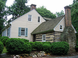 North Bethesda, Maryland - The Riley plantation house and kitchen, located in the Tilden Woods neighborhood on Old Georgetown Road