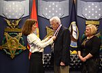 Under Secretary of the Navy presents the Humanitarian Award to James McLaughlin. (30742980742).jpg