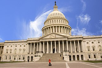 Microeconomics - United States Capitol Building: meeting place of the United States Congress, where many tax laws are passed, which directly impact economic welfare. This is studied in the subject of public economics.