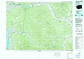 United States Geological Survey Map Chehalis River, Published 1992.jpg
