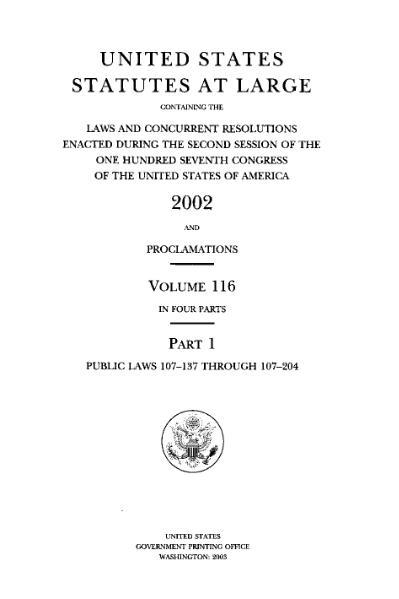 File:United States Statutes at Large Volume 116 Part 1.djvu