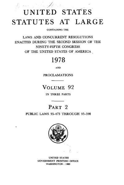 File:United States Statutes at Large Volume 92 Part 2.djvu