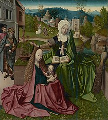 Virgin and Child with SaintAnne