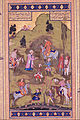 Unknown, Iran, 16th or 17th Century - Illuminated Page from the Jahangir Album - Google Art Project.jpg