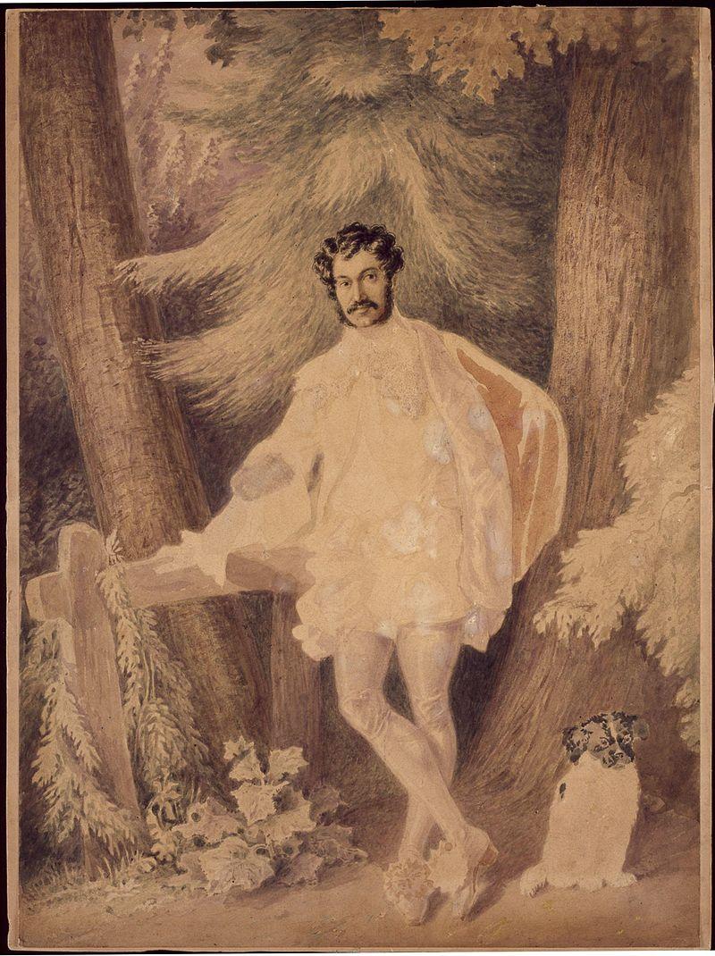 Unknown man, formerly known as Edward George Earle Lytton Bulwer Lytton, 1st Baron Lytton by Alfred Edward Chalon.jpg