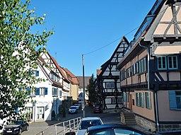 Untere Burggasse in Sindelfingen