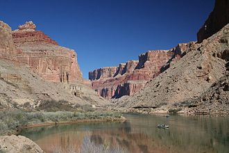 Rafting - Rafting in Grand Canyon, USA