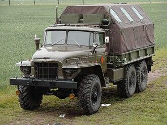 Ural-375 - Image: Ural 375 nva