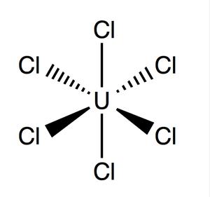 Uranium hexachloride - Image: Uranium Hexachloride