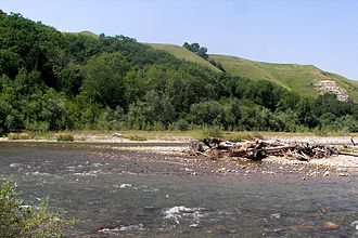 Urup River - Image: Urup River 019